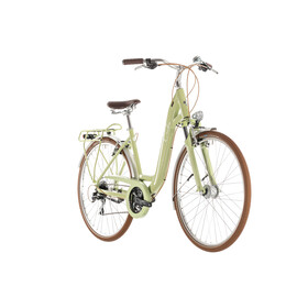 Cube Ella Ride Stadsfiets Dames Easy Entry groen